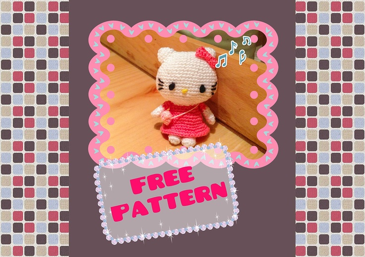 How To Crochet Hello Kitty Bag By Marifu6a Free Pattern Tutorial : 17 Best images about Hello Kitty DIY on Pinterest Free ...