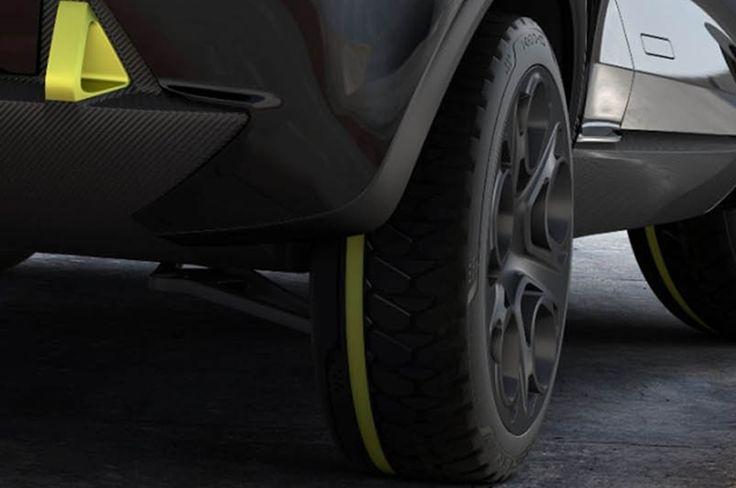 Kia Niro tyre detail