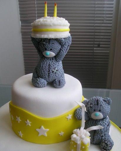 """Детский торт """"Мишки Тедди"""""""