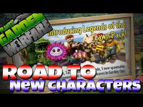 Road to New Characters (Legends of the Lawn Pack) - Plants Vs. Zombies: ...