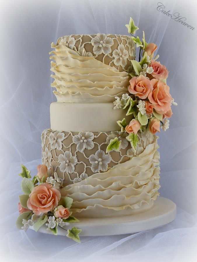 Coffee and Cream Cake by Marlene
