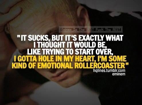 More space bound lyrics by Eminem