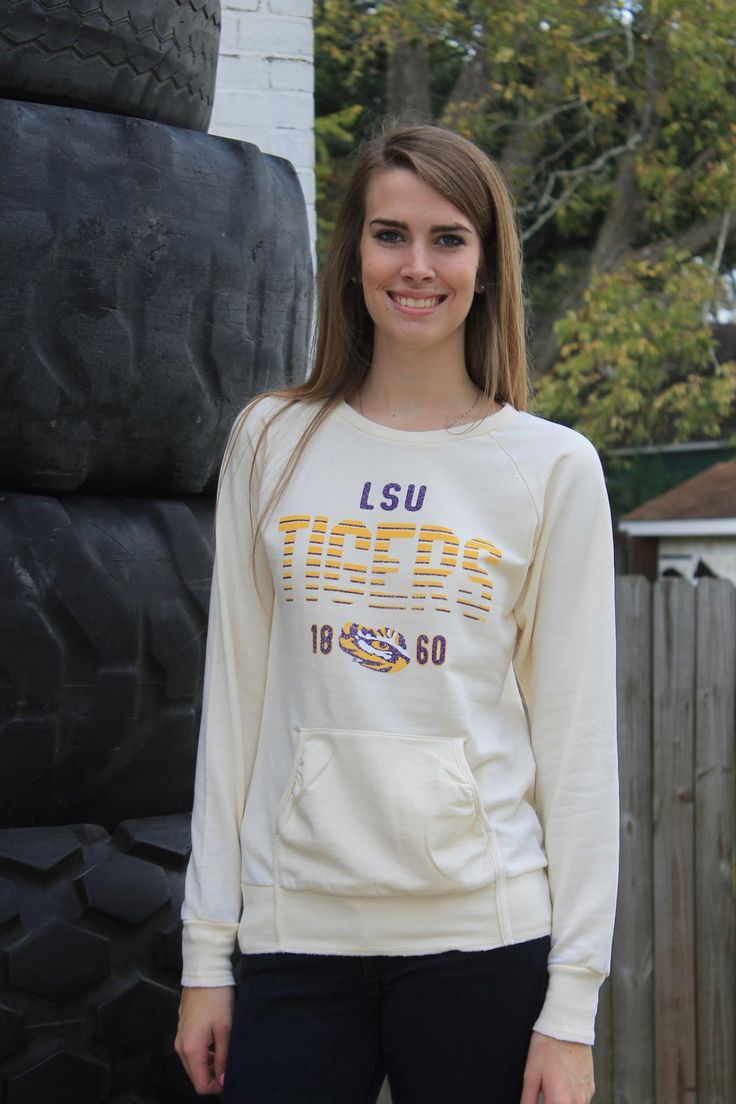 LSU Crush Crew Sweatshirt
