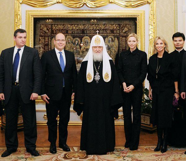 Princess Corinna zu Sayn-Wittgenstein Visits Russia