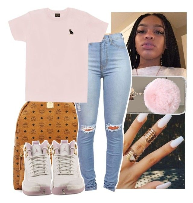 """""""✨"""" by shadea04 on Polyvore featuring MCM, October's Very Own and NIKE"""