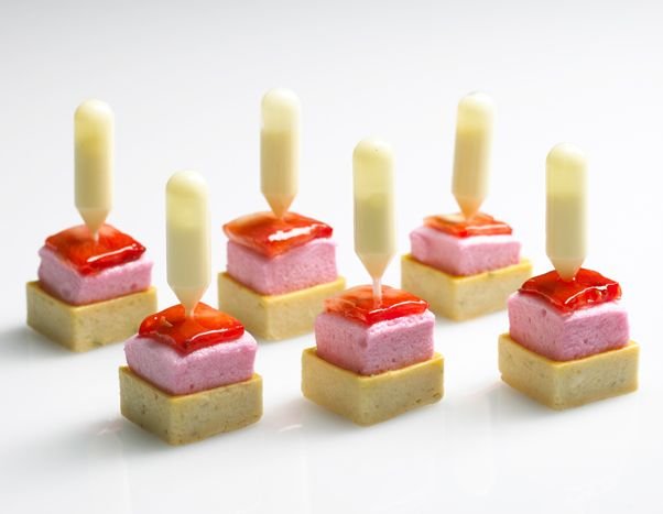 17 best images about canapes on pinterest smoked salmon for Canape dessert ideas