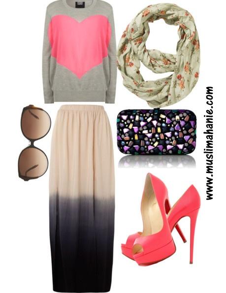 Coral Chick  Muslimah Fashion