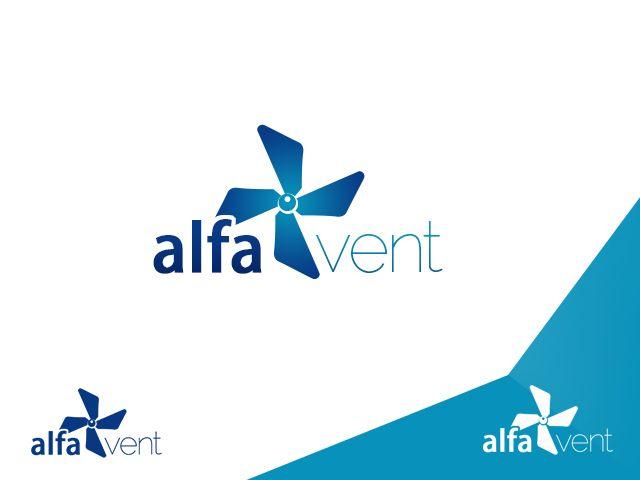 Alfa VENT logo proposal