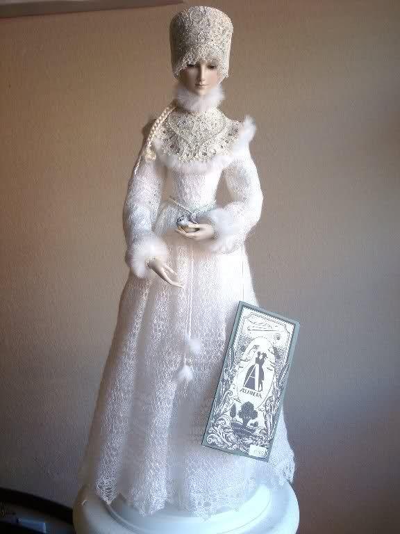 Snow Maiden, by Alexandra Koukinova