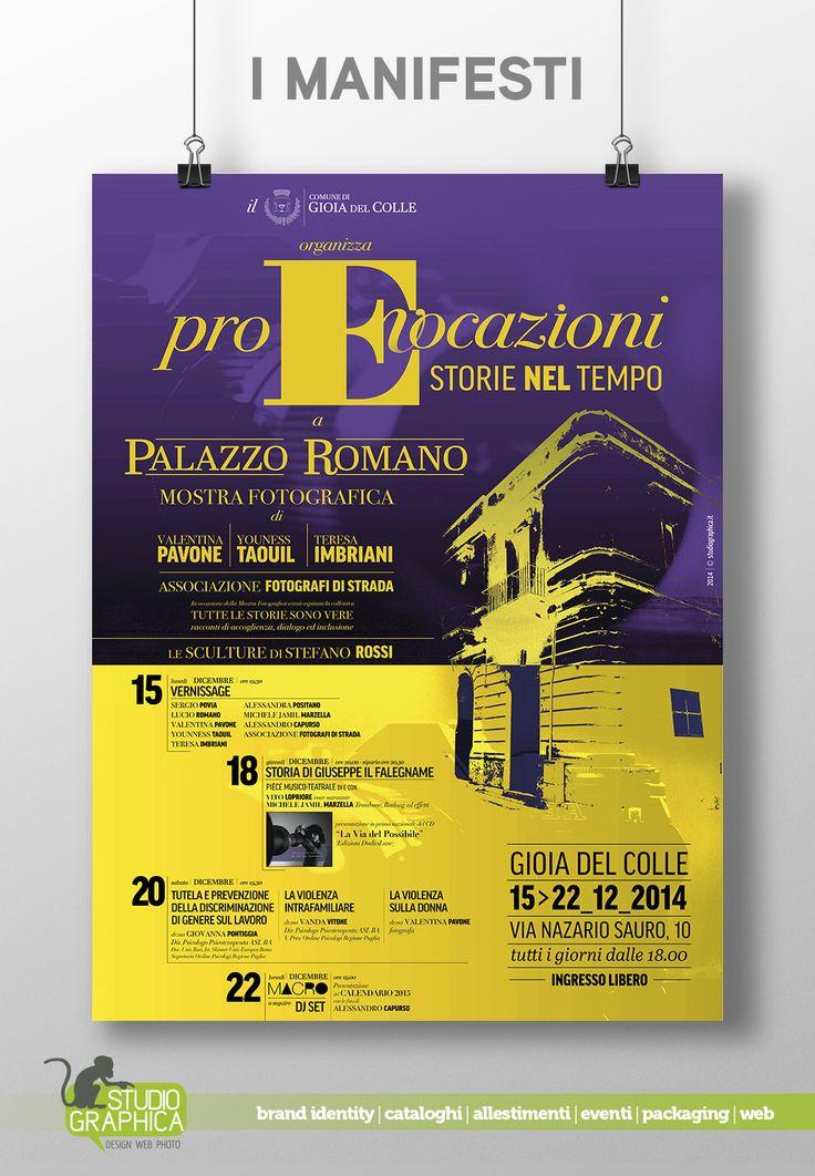 proEvocazioni a Palazzo Romano a Gioia del Colle - mostra di fotografia