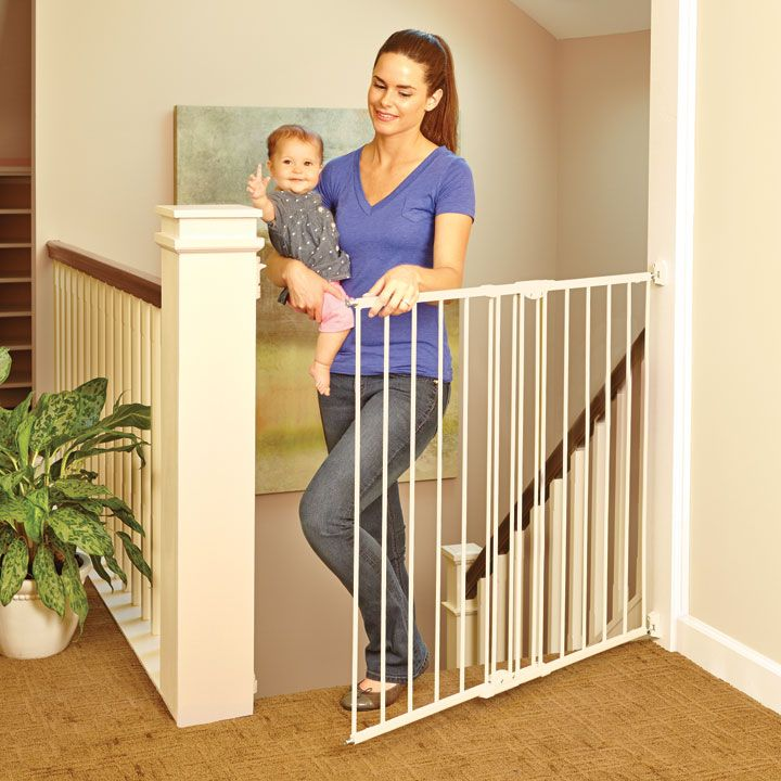 Tall Easy Swing Lock Baby Gates Our Products Pinterest Baby