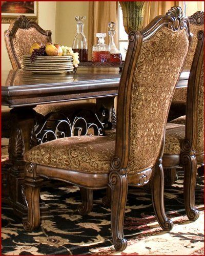 Neo Renaissance Traditional Formal Dining Upholstered Side: 1000+ Images About Decor/Dining Room On Pinterest