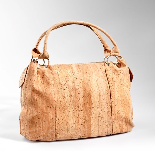Bag made of cork