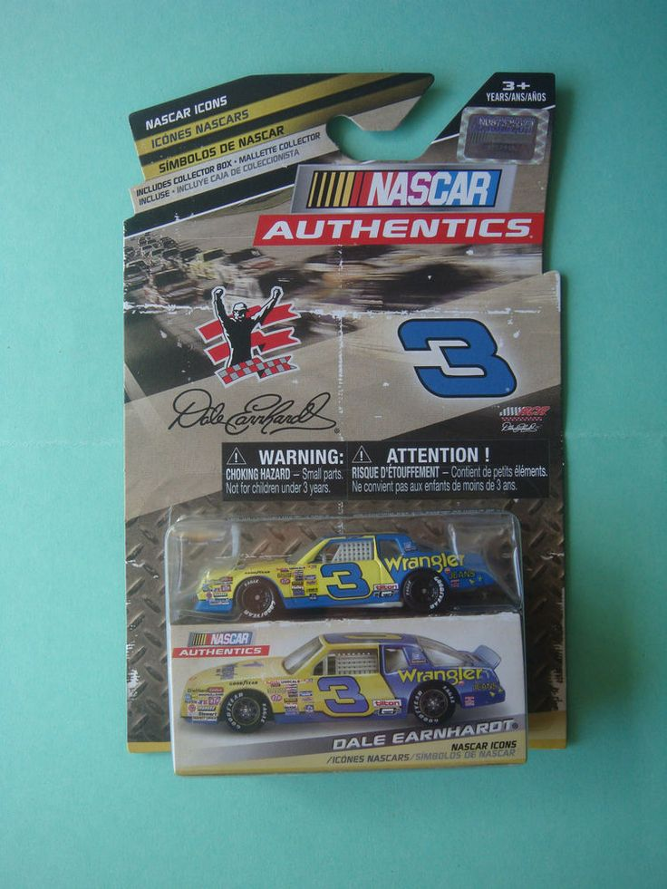 1/64 DALE EARNHARDT #3 WRANGLER NASCAR AUTHENTICS