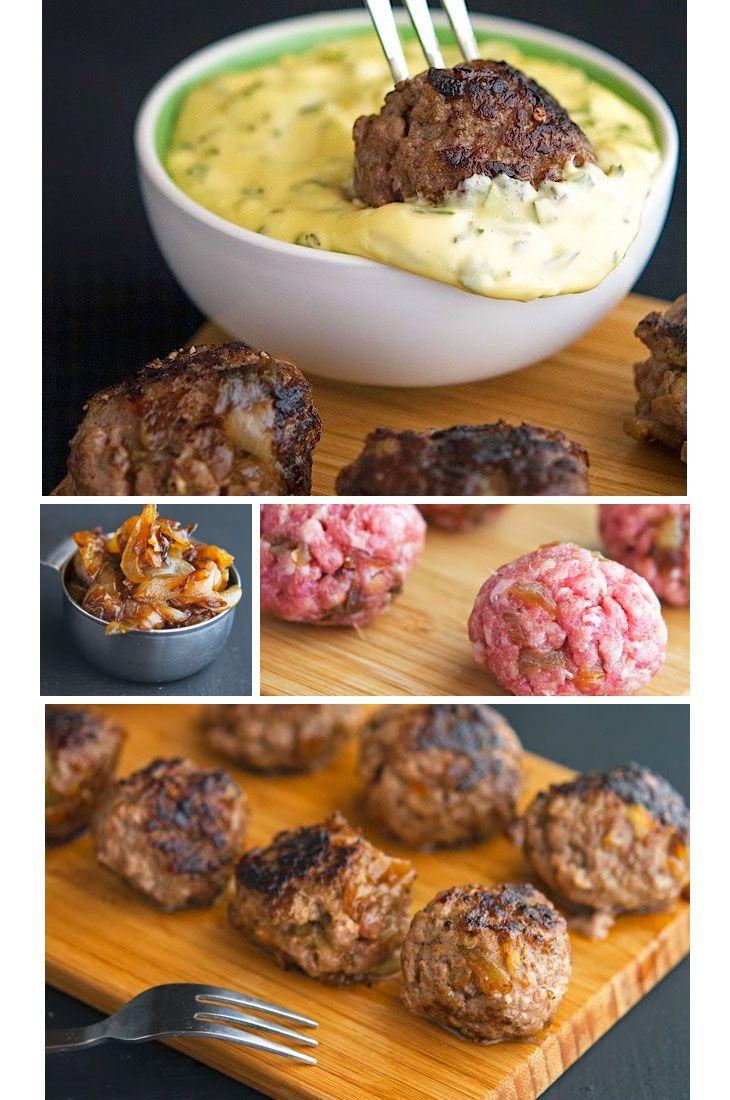 Easy Paleo Dinner Ideas - Meatballs with Rosemary Aioli - Quick & Easy Dinner Recipes