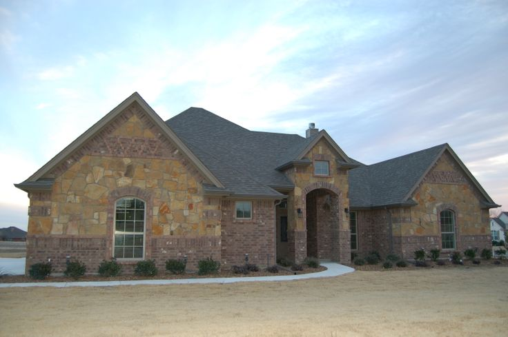 Brick Stone Elevation : Best images about mcbee homes exterior desgins on
