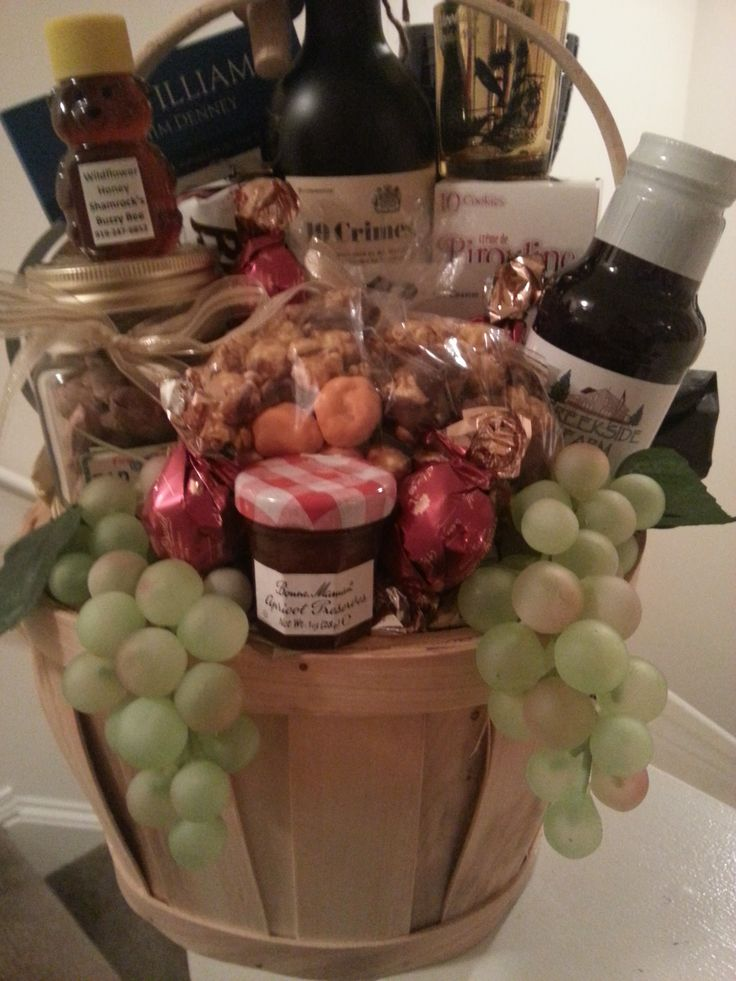 173 best Gift Baskets images on Pinterest | Gift basket, Wine ...