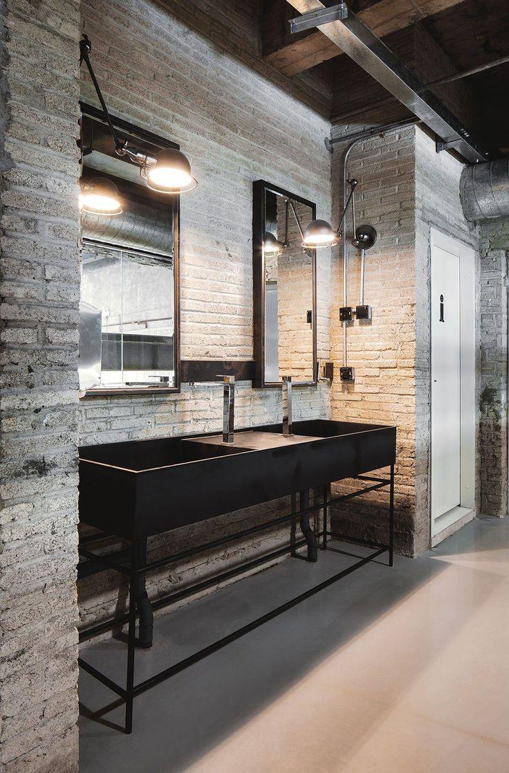 Photo By Kevin Ho Industrial Bathroom Decor Industrial Style Interior Modern Industrial Decor