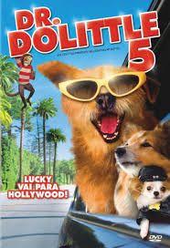 Docteur Dolittle 5 est un film américain, réalisé par Alex Zamm, et sorti directement en vidéo en 2009. Maya Dolittle est une jeune fille pas comme les autres. Comme son père, le célèbre Dr Dolittle, elle peut parler aux animaux. Grâce à ce don, elle décroche un travail dans un talk show pour animaux aux côtés de la célèbre héritière Tiffany Monaco, et part vivre à Los Angeles. Maya, Lucky et tous leurs amis vont découvrir la folle vie d'Hollywood. Mais alors que Lucky file le parfait…