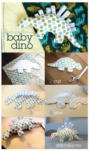 dinosaur sewing pattern