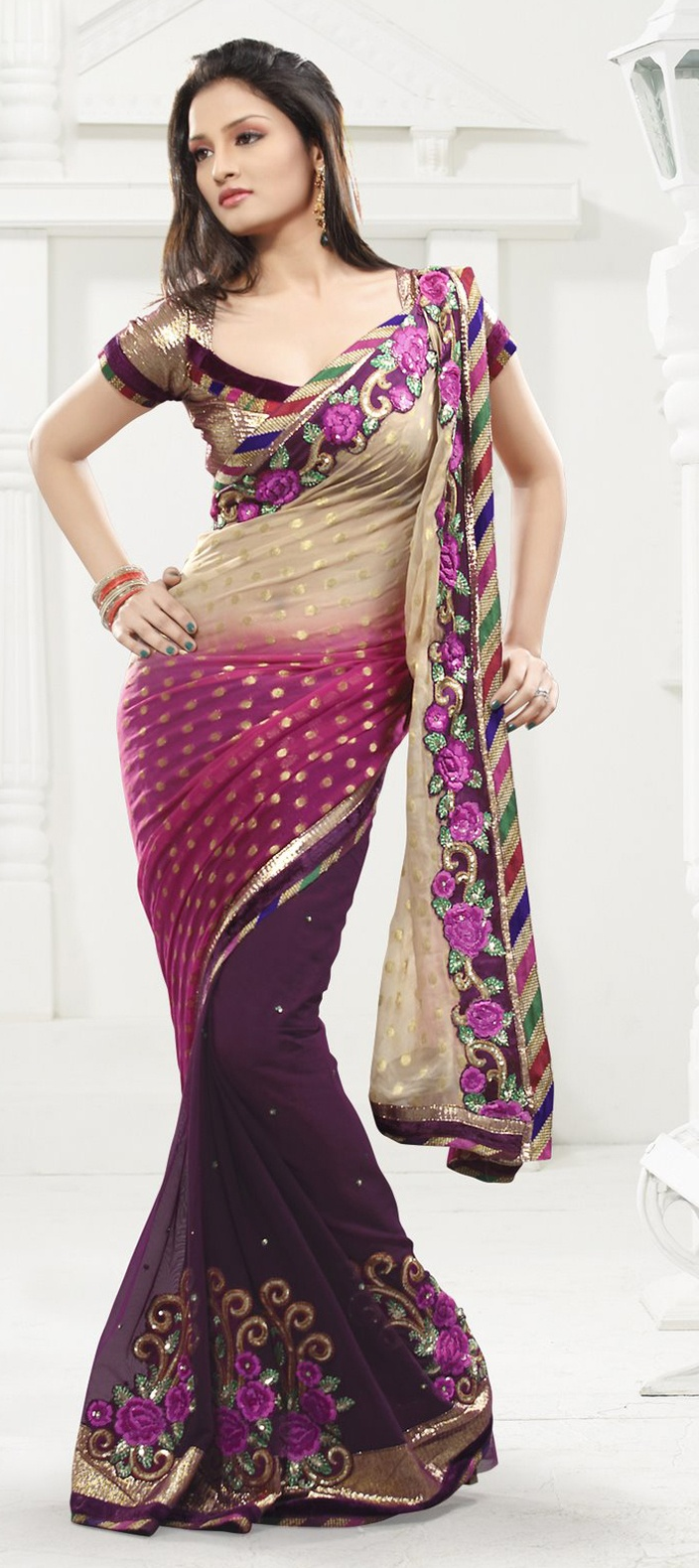 Indian Wedding Saree - exclusive online store for Indian dresses. You can find a vast variety of Indian and indo-western outfits designed specially to suit your needs and the exquisite collection of Indian designer wears ranging from day to day wearable kurtis to elegant Indian wedding sarees designed for rarest moments of life.
