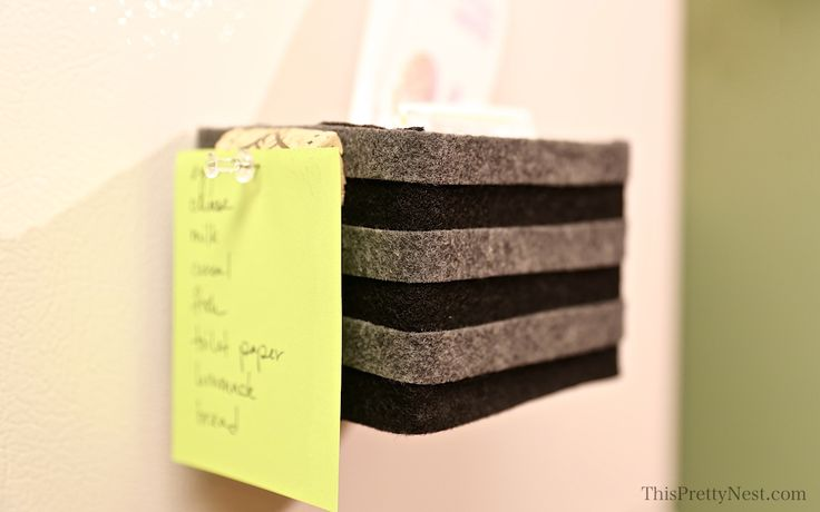 Magnetic Coupon Sorter — This Pretty Nest