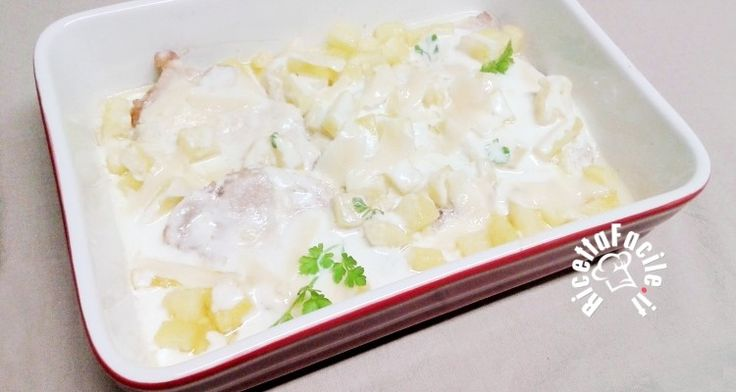 Lombatine di Maiale con crema di yogurt e Ananas fresco