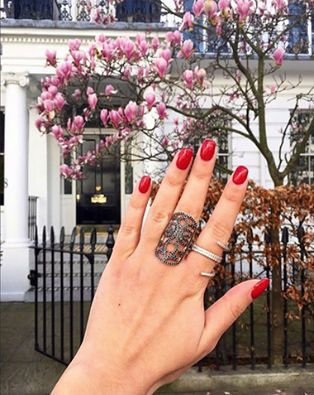 London Calling. There's something blossoming in West London...@LaVieJewelry's sparkly collection! Shop it now! #wecreateharmony #laviejewelry #accessorizeit #rings #ringfling   Shop the collection here:  bit.ly/1Hsts4R
