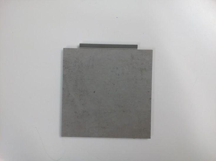 PORCELAIN GRES URBAN GREY FUGA SOPRO 14 betonowo szary 02_14 przód
