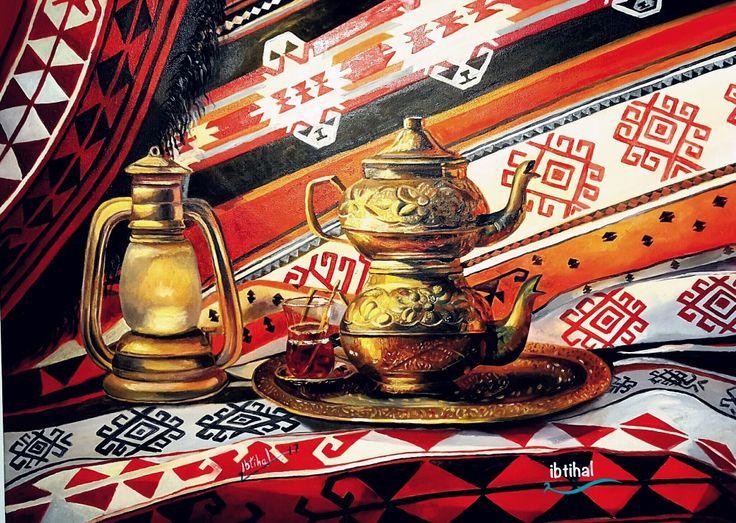 My painting 60x80 oil of canvas من اعمالي زيت عالكانفاس