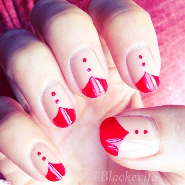 Nails_Red Tips