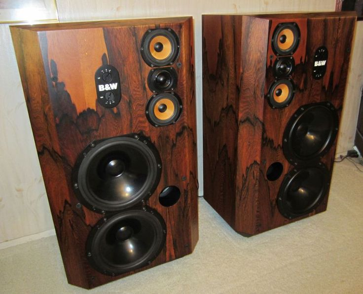 Bowers Wilkins Speakers >> EXTREMELY RARE B&W 808 Series 80 Speakers Vintage Bowers and Wilkins ROSEWOOD - Photo829840 ...