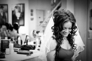 Wedding prep.