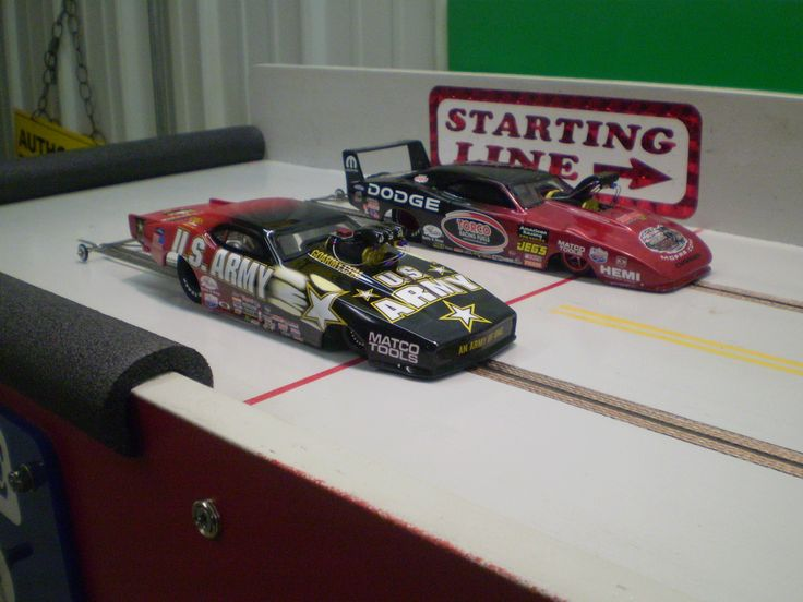 Drag Racing Car Rc Slot