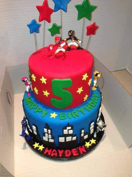 power ranger cake - Google Search