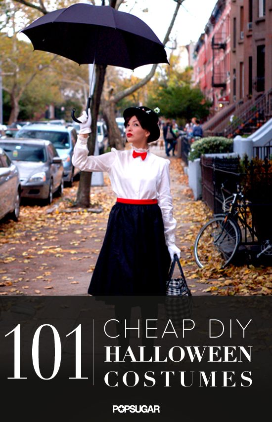 101 DIY costume ideas. You'll definitely find a costume in here!