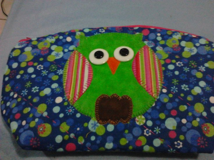 Cartuchera hecha por mi hija...