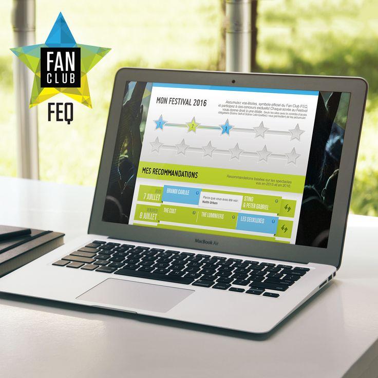 Dès que vous avez votre laissez-passer en main, profitez-en pour vous inscrire au Fan Club FEQ. On vous réserve quelques nouveautés et on continue de vous gâter avec des avantages exclusifs!