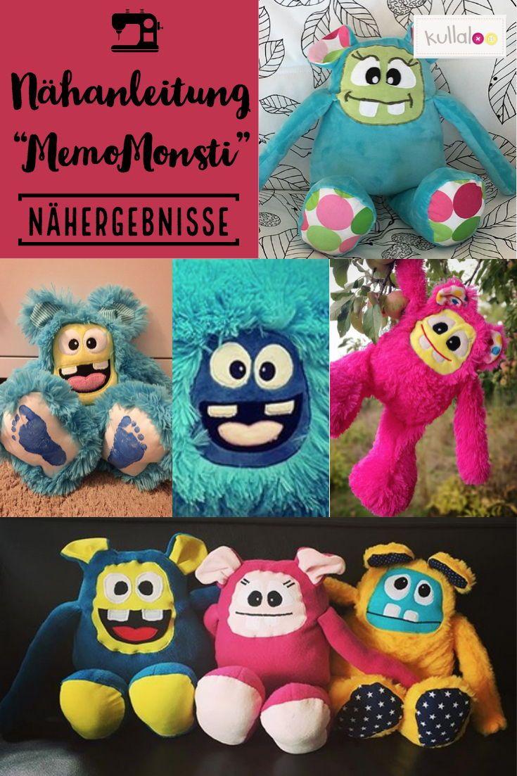 "Monster peluche Mostro Animali ✭ di cucitoSchnittmuster ""memomonsti""Peluche pGqSMLzVU"