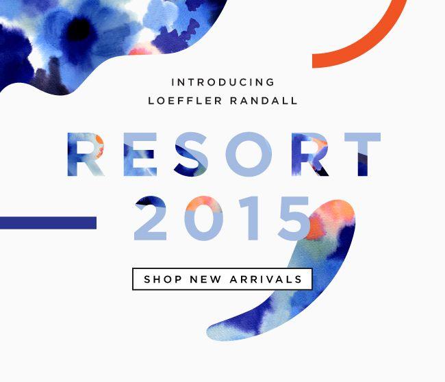 Shop The New Resort 2015 Collection At The Official Loeffler Randall Online Store LoefflerRandall.com