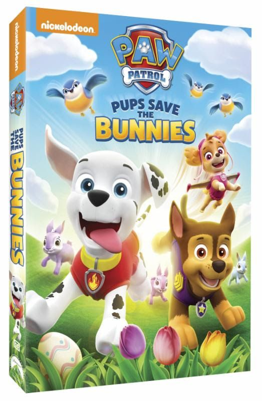 Paw Patrol Pups Save the Bunnies DVD Giveaway