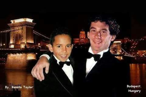Ayrton Senna- Lewis Hamilton...l'm not sure is it a ps or not.
