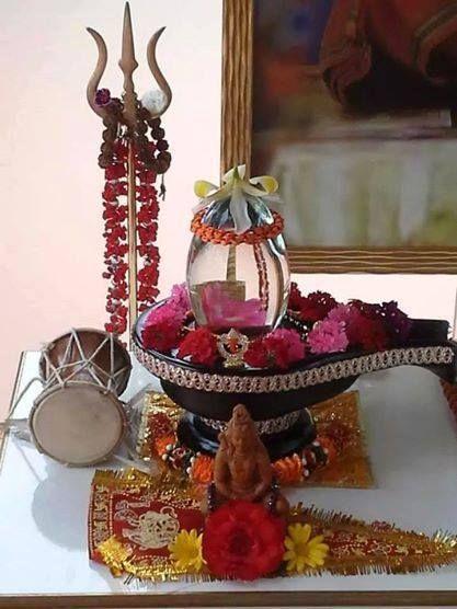 Om Namah Shivay — Shiva lingam