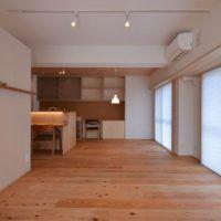 兵庫 明石の家 | 木のマンションリフォーム・リノベーション設計実例 | 木のマンションリフォーム・リノベーション-マスタープラン一級建築士事務所