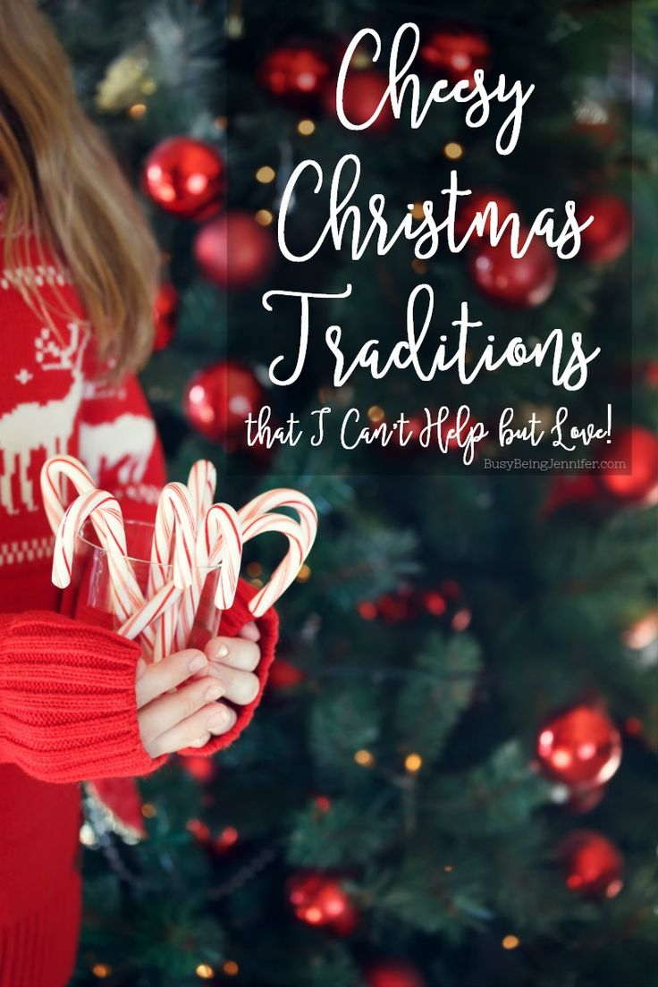 Cheesy Christmas Traditions that I Canu0027t Help