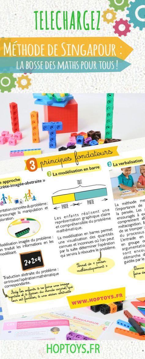 Maths : on manipule avec la méthode de SingapourQue vous l'appliquiez en classe – avec les manuels et la progression dédiés ou non – ou que vous souhaitiez accompagner à la maison les progrès en maths de votre enfant (devoirs, soutien ou instruction à domicile),