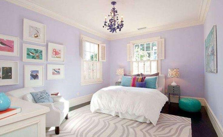 Idee per arredare la camera da letto con il color lavanda - Camera da letto dai colori delicati