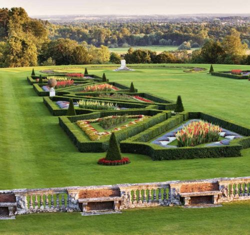 Paradise Found - Gardens of Enchantment by Clive Nichols, published by teNeues. Cliveden House, Buckinghamshire, United Kingdom parterre