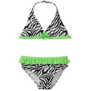 OP Baby Girls' 2 Piece Zebra Print Bikini