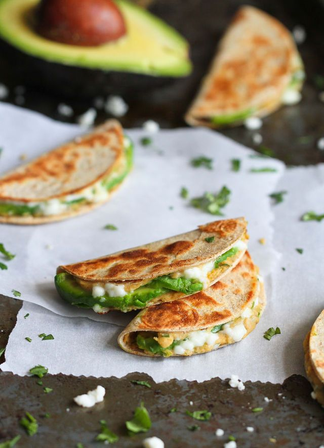 Mini Avocado & Hummus Quesadilla